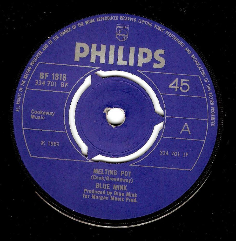 Blue Mink Melting Pot Vinyl Record 7 Inch Philips 1969